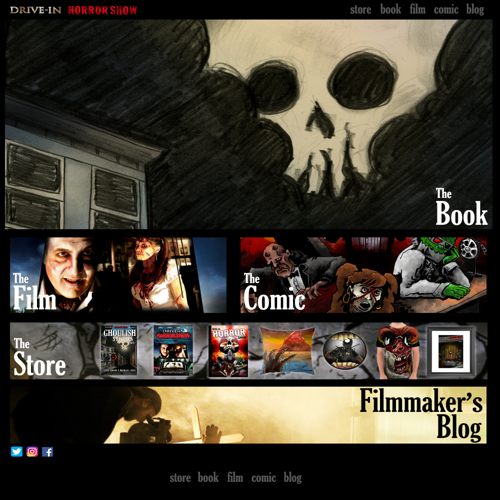 Drive-In Horrorshow Presents: Ghoulish Stories, Vol 1