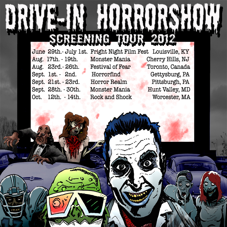 Drive-In Horrorshow Film Tour